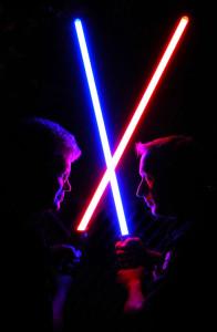 Come to the dark side, Luke.
